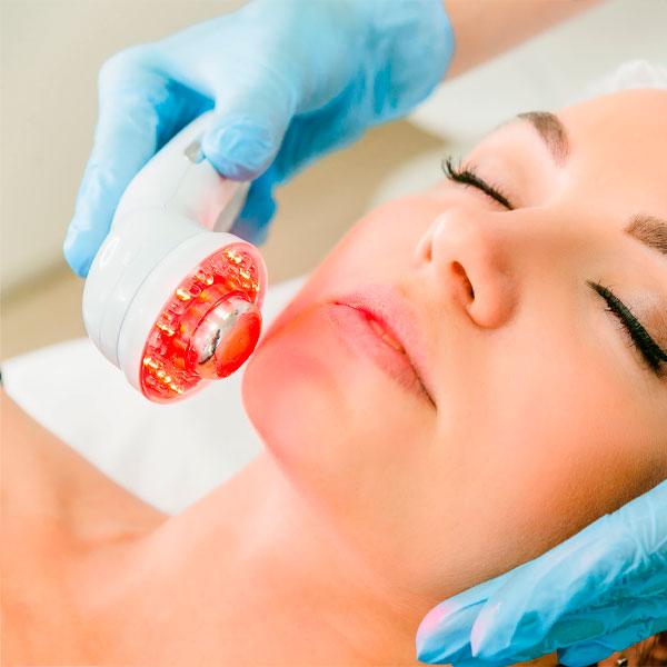 Rejuvenecimiento facial con IR